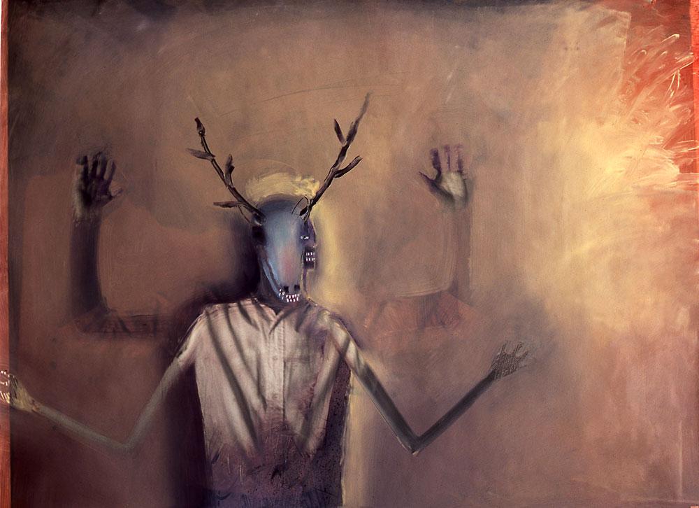 """Deer Dancer - 26"""" x 35"""""""