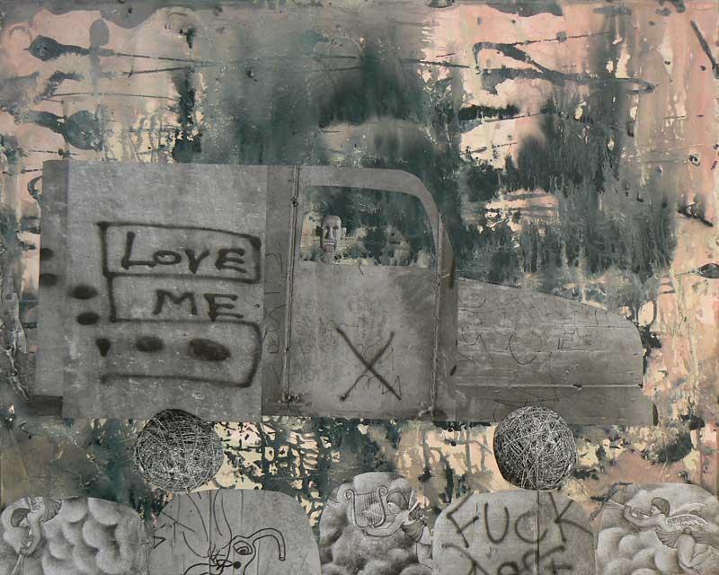 """Love Me Truck - 24"""" x 30"""""""