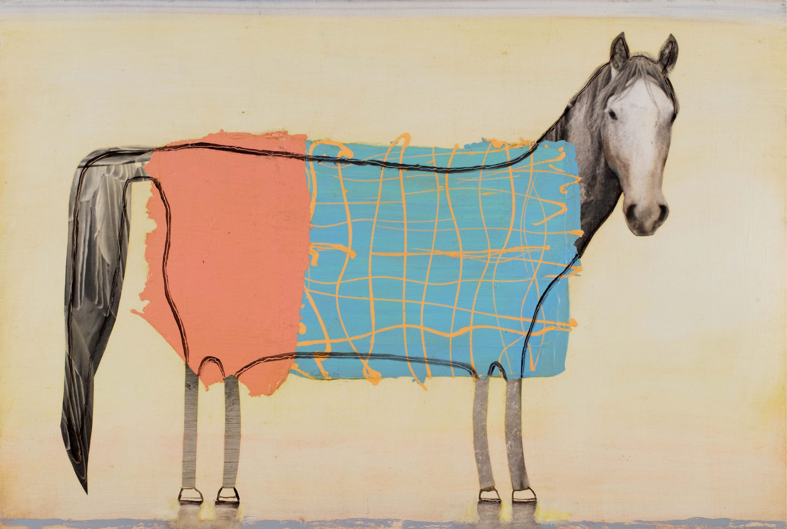 """Painted Horse 2020 - 24"""" x 36"""""""